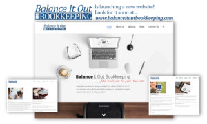 Balance It Out Bookkeeping Web Site Launch