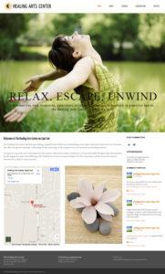 Healing Arts Center Cape Cod Web Site